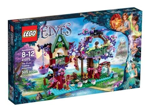 Vỏ hộp đựng bộ xếp hình Lego Elves 41075 - Cuộc sống bí ẩn trên cây