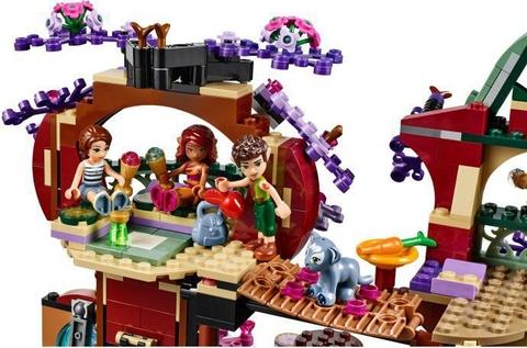 Đồ chơi Lego Elves 41075 - Cuộc sống bí ẩn trên cây bổ ích cho bé