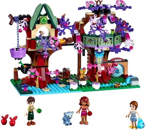 Mô hình Lego Elves 41075 - Cuộc sống bí ẩn trên cây khi hoàn thành