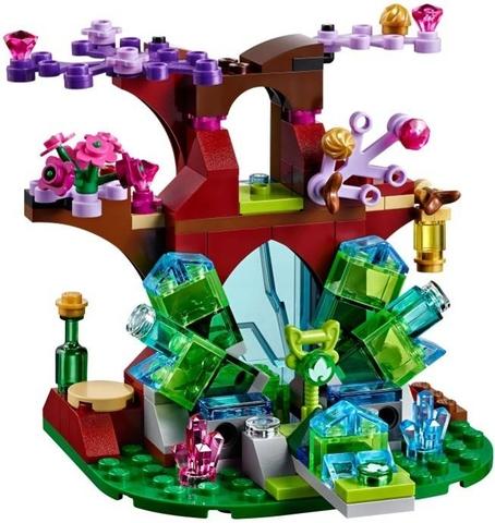 Bộ xếp hình Lego Elves 41076 - Farran và thung lũng pha lê với chất liệu nhựa tuyệt đối an toàn cho bé