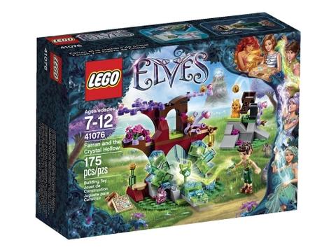 Hình ảnh vỏ hộp bộ Lego Elves 41076 - Farran và thung lũng pha lê