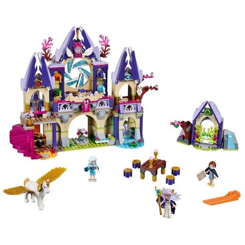 Trọn bộ các chi tiết có trong bộ xếp hình Lego Elves 41078 - Lâu đài Trên Không của Skyra