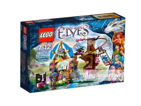 Ảnh bìa sản phẩm Lego Elves 41173- Trường Huấn Luyện Rồng Ở Elvendale