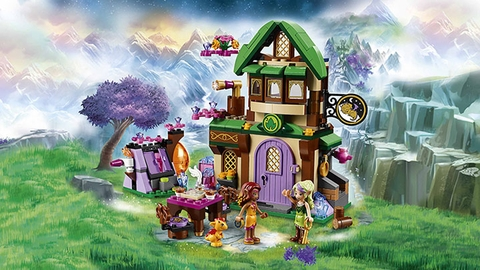 Lego Elves 41174 - Nhà Trọ Ánh Sao - nhà trọ xinh xắn