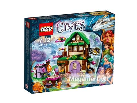 Ảnh bìa bộ đồ chơi Lego Elves 41174 - Nhà Trọ Ánh Sao