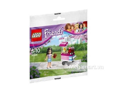 Hình ảnh vỏ hộp bộ Lego Friends 30396 - Quầy Bánh Cupcake Của Emma