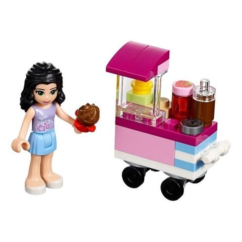 Lego Friends 30396 - Quầy Bánh Cupcake Của Emma - toàn cảnh bộ sản phẩm