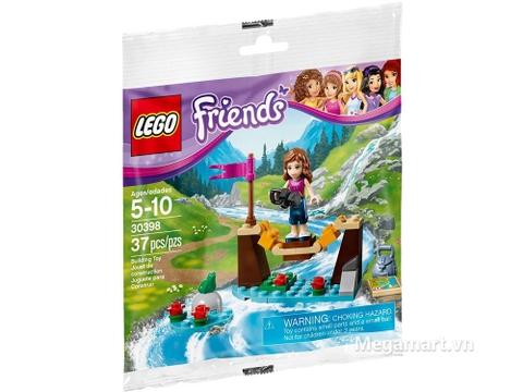 Hình ảnh vỏ hộp bộ Lego Friends 30398 - Cây Cầu Thám Hiểm