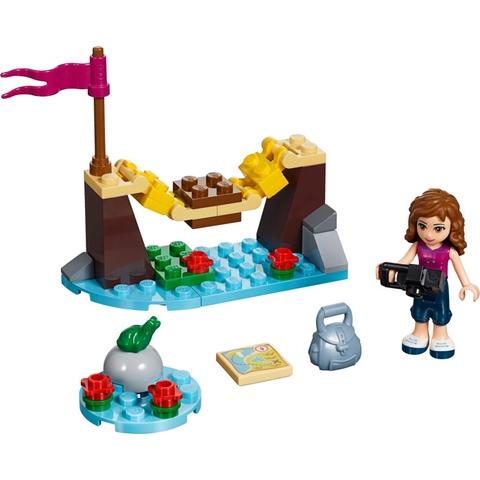 Lego Friends 30398 - Cây Cầu Thám Hiểm - tổng quan các chi tiết