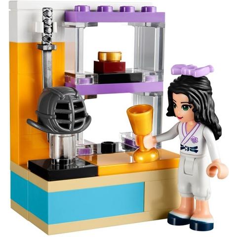 Kích thích trí sáng tạo và khả năng vận đông ở trẻ nhỏ với bộ xếp hình Lego Friends 41002 - Võ Đường Con Gái