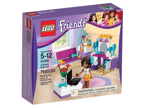 Hình ảnh thực tế sản phẩm Lego Friends 41009 - Phòng Ngủ Của Andrea