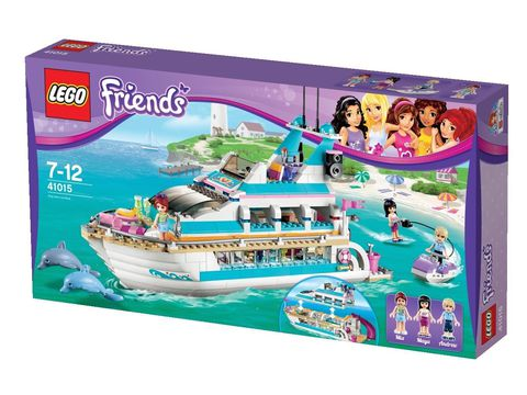Hình ảnh bên ngoài sản phẩm Lego Friends 41015 - Du Thuyền Cá Heo