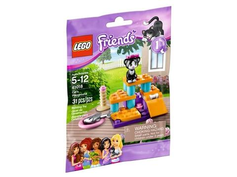 Hình ảnh túi sản phẩm Lego Friends 41018 - Sân Chơi Cho Mèo Cưng
