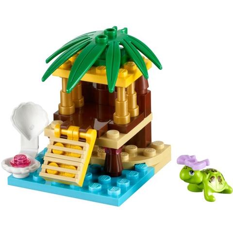Lego Friends 41019 - Ốc Đảo Cho Rùa - Đồ chơi lắp ghép sáng tạo an toàn cho bé