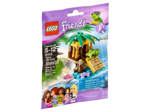 Hình ảnh túi đựng sản phẩm Lego Friends 41019 - Ốc Đảo Cho Rùa