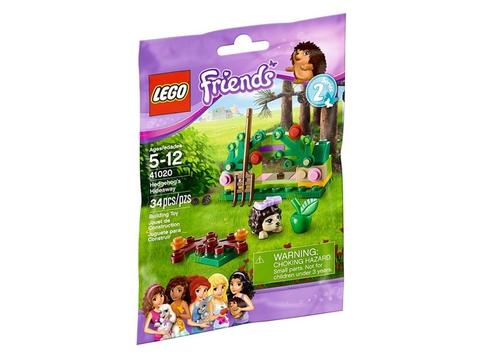 Vỏ ngoài thực tế sản phẩm Lego Friends 41020 - Hang Nhím