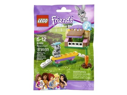 Thiết kế vỏ đựng bên ngoài bắt mắt của sản phẩm Lego Friends 41022 - Nhà Cho Thỏ Con