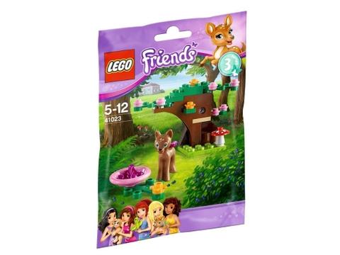 Hình ảnh vỏ ngoài sản phẩm Lego Friends 41023 - Rừng Cho Hươu Con