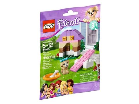 Vỏ đựng thực tế sản phẩm Lego Friends 41025 - Nhà Chơi Cho Cún Con
