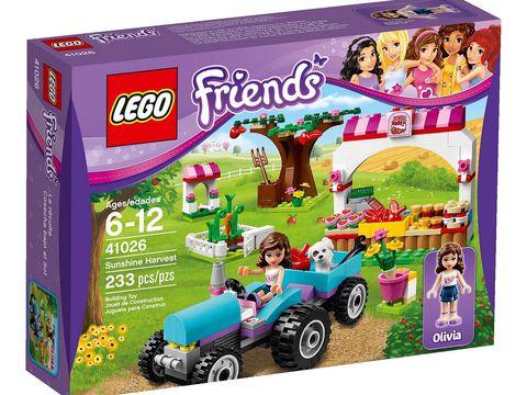 Hình ảnh bên ngoài sản phẩm Lego Friends 41026 - Ngày Mùa Thu Hoạch