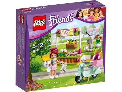 Hình ảnh vỏ đựng sản phẩm Lego Friends 41027 - Quầy Giải Khát Của Mia
