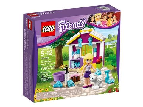 Hình ảnh vỏ hộp thực tế của bộ đồ chơi Lego Friends 41029 - Cừu Sơ Sinh của Stephanie