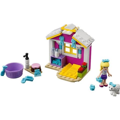 Toàn bộ các chi tiết có trong bộ xếp hình Lego Friends 41029 - Cừu Sơ Sinh của Stephanie