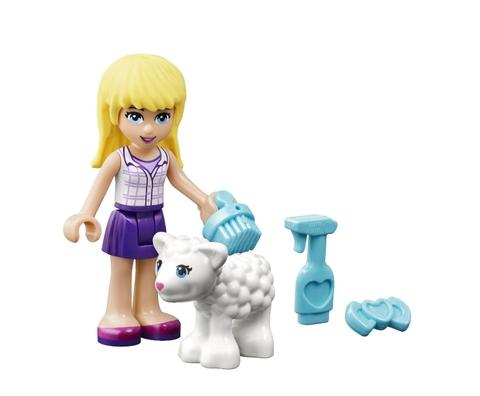 Bộ xếp hình Lego Friends 41029 - Cừu Sơ Sinh của Stephanie với chủ đề độc đáo