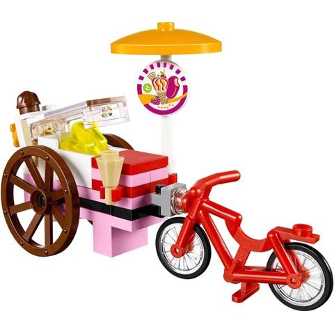 Chiếc xe kem độc đáo, dễ  thương trong Lego Friends 41030 - Xe Kem Của Olivia