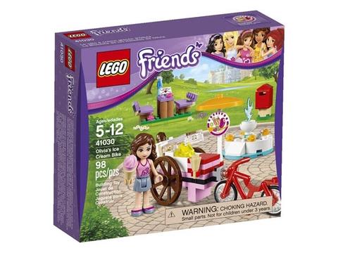 Vỏ hộp đựng sản phẩm Lego Friends 41030 - Xe Kem Của Olivia