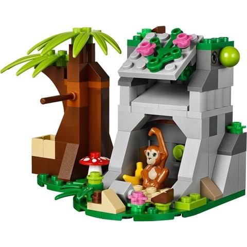 Mô hình độc đáo trong bộ xếp hình Lego Friends 41032 - Trạm Xe Trong Rừng