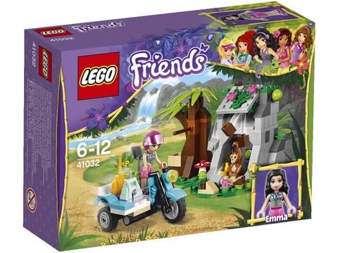 Hình ảnh hộp dựng bên ngoài sản phẩm Lego Friends 41032 - Trạm Xe Trong Rừng