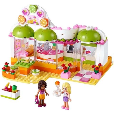 Toàn bộ các mô hình trong Lego Friends 41035 - Cửa Hàng Nước Trái Cây Heartlake
