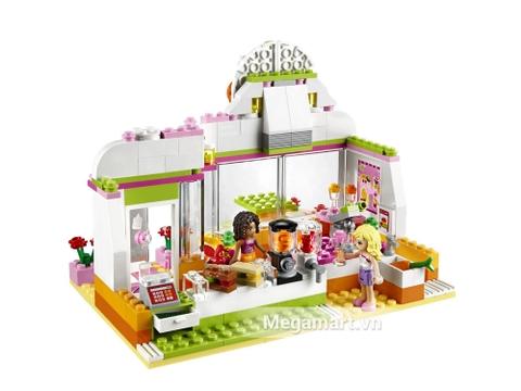 Bộ xếp hình Lego Friends 41035 - Cửa Hàng Nước Trái Cây Heartlake thú vi