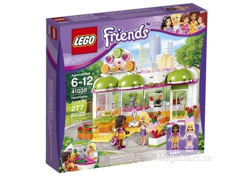 Vỏ ngoài bộ đồ chơi lắp ghép Lego Friends 41035 - Cửa Hàng Nước Trái Cây Heartlake