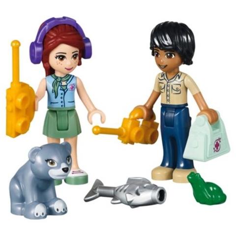 Bộ xếp hình Lego Friends 41036 - Cứu Hộ Tại Cầu Treo giúp kích thích khả năng sáng tạo cho bé