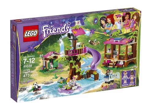 Hình ảnh vỏ hộp đựng bộ đồ chơi Lego Friends 41038 - Căn Cứ Giải Cứu Rừng Xanh