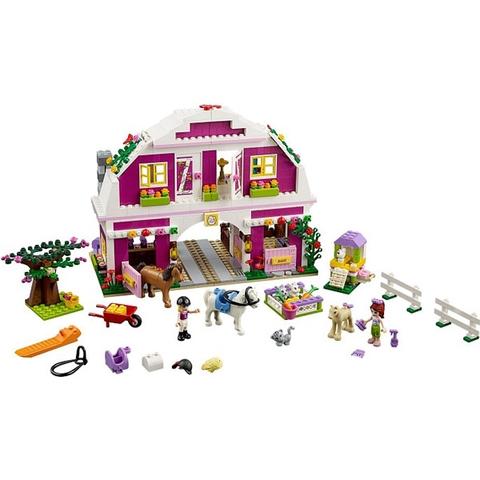 Toàn bộ các chi tiết có trong bộ xếp hình Lego Friends 41039 - Trang Trại Rực Rỡ