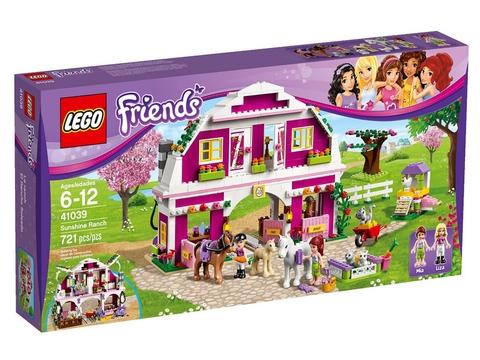 Hình ảnh thực tế sản phẩm Lego Friends 41039 - Trang Trại Rực Rỡ