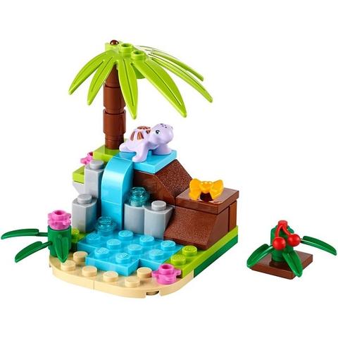 Bộ xếp hình Lego Friends 41041 - Lâu Đài Rùa Con với 43 mảnh ghép tinh tế