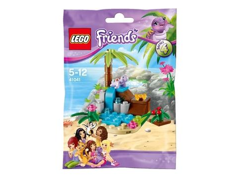 Hình ảnh vỏ ngoài sản phẩm Lego Friends 41041 - Lâu Đài Rùa Con