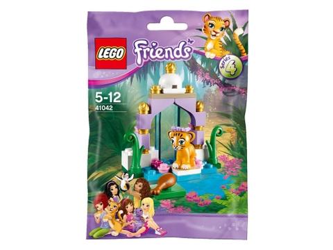 Hình ảnh thực tế vỏ ngoài sản phẩm Lego Friends 41042 - Ngôi Đền Của Hổ
