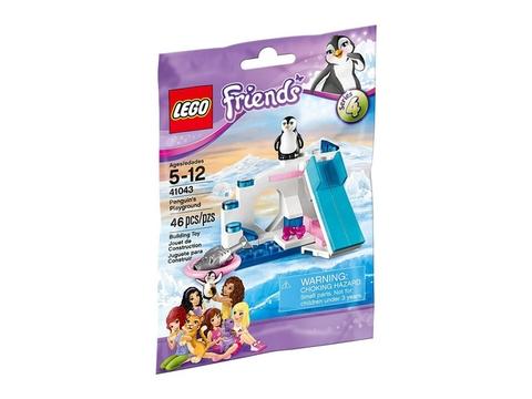 Hình ảnh thực tế túi đựng bên ngoài sản phẩm Lego Friends 41043 - Sân Chơi Chim Cánh Cụt