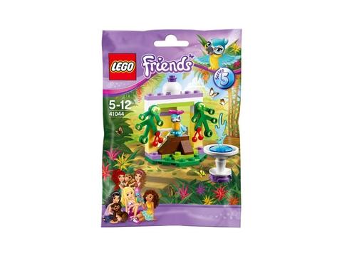 Hình ảnh túi đựng bên ngoài bộ đồ chơi Lego Friends 41044 - Đài phun nước của chim vẹt