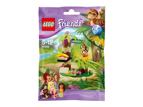Hình ảnh vỏ hộp bên ngoài sản phẩm Lego Friends 41045 - Vườn chuối của khỉ con