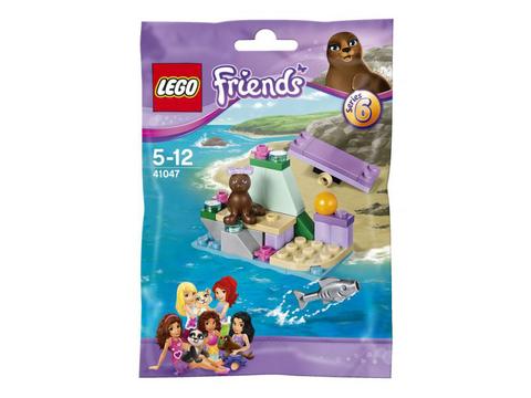 Hình ảnh túi đựng bên ngoài sản phẩm Lego Friends 41047 - Hòn Đá Của Hải Cẩu