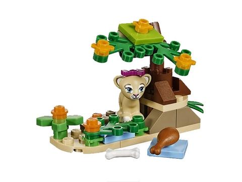 Bé được phát triển kỹ năng toàn diện khi chơi cùng bộ đồ chơi Lego Friends 41048 - Đồng Cỏ Xavan Của Sư Tử