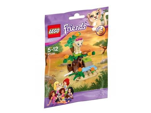 Hình ảnh túi đựng bên ngoài sản phẩm Lego Friends 41048 - Đồng Cỏ Xavan Của Sư Tử