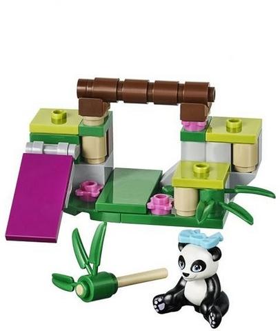 Bộ đồ chơi Lego Friends 41049 - Bụi Tre Của Gấu Trúc thiết kế dễ thương