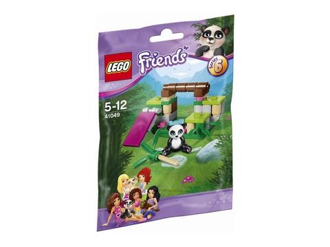 Hình ảnh vỏ bìa ngoài của Lego Friends 41049 - Bụi Tre Của Gấu Trúc